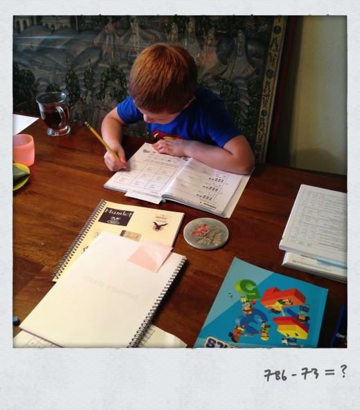 Ryan doing math- Wk. 1